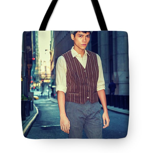 City Boy Tote Bag