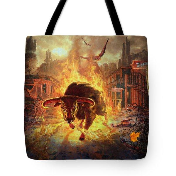 City Bull City Tote Bag