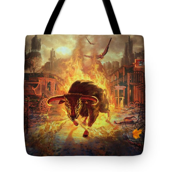 City Bull City Tote Bag