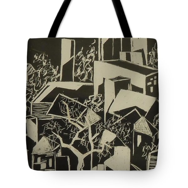 City By Moonlight - Sold Tote Bag