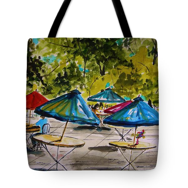 City Cafe Tote Bag by John Williams