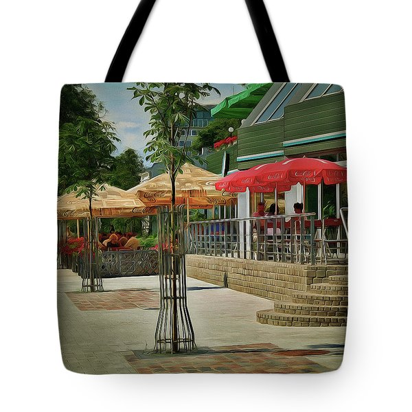 City Cafe Tote Bag