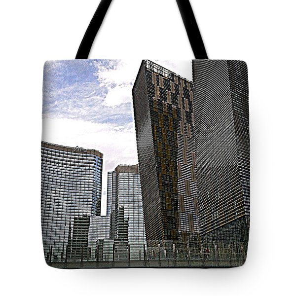 City Center At Las Vegas Tote Bag