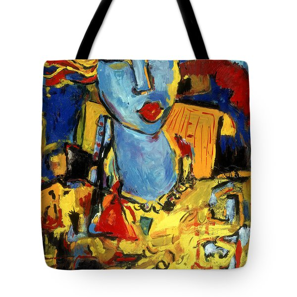 City Chick Tote Bag