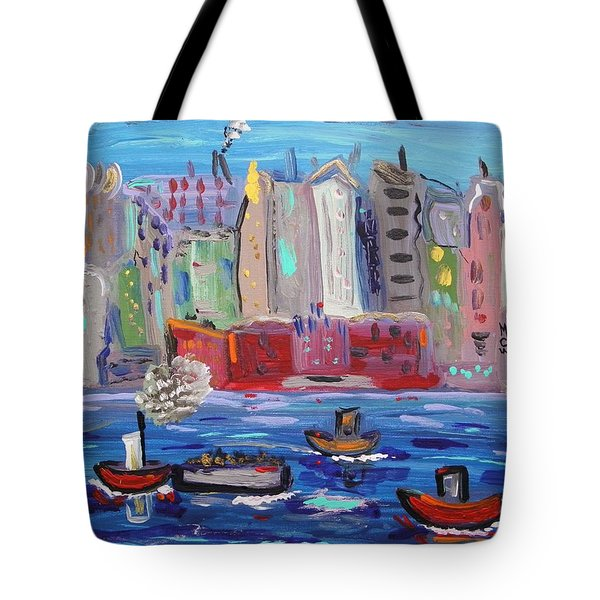 City City City Tote Bag