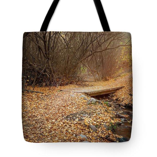 City Creek Tote Bag