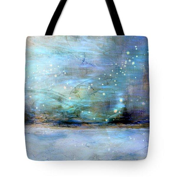 Tote Bag featuring the digital art City Dream by Linda Sannuti