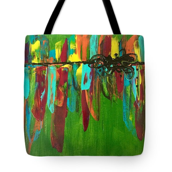 City Dreams  Tote Bag