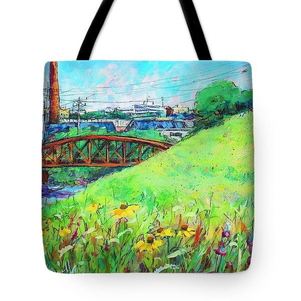 City Fields Tote Bag