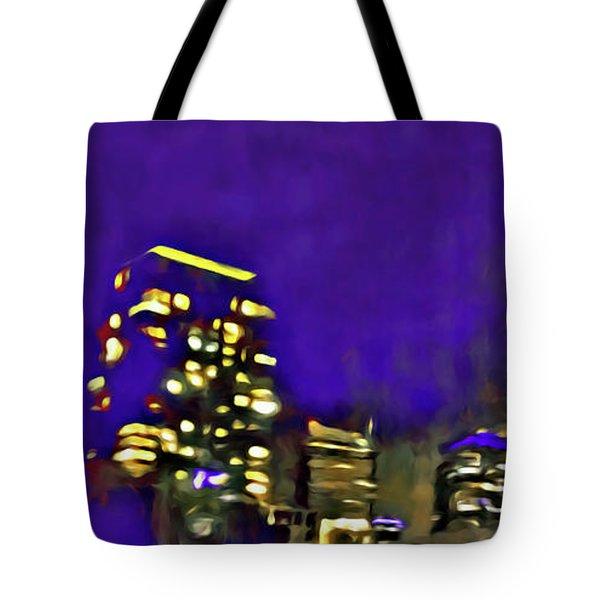City Flames Tote Bag