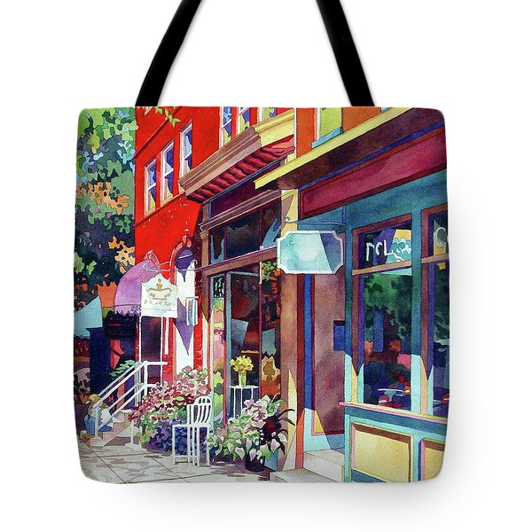City Flower Tote Bag