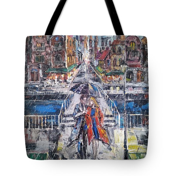 City For Two Tote Bag