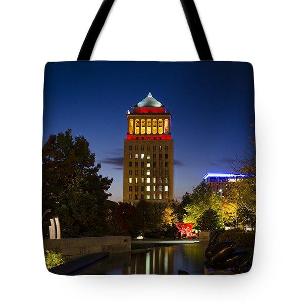 City Garden Tote Bag