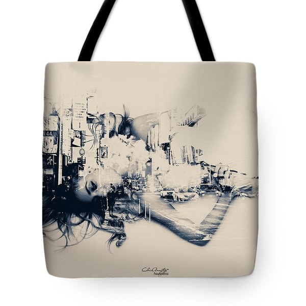 City Girl Dreaming Tote Bag