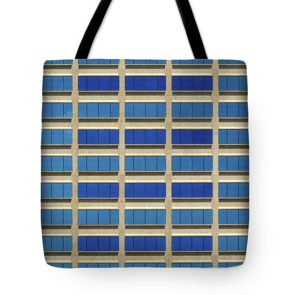 City Grid Tote Bag