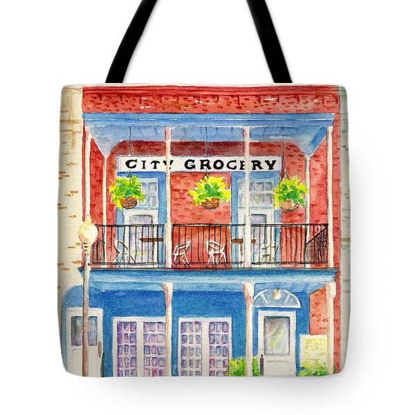 City Grocery Oxford Mississippi  Tote Bag