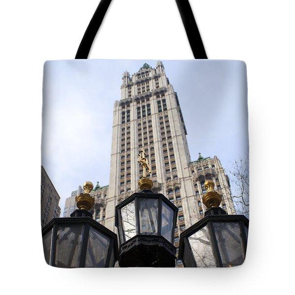 City Hall Area Nyc Tote Bag