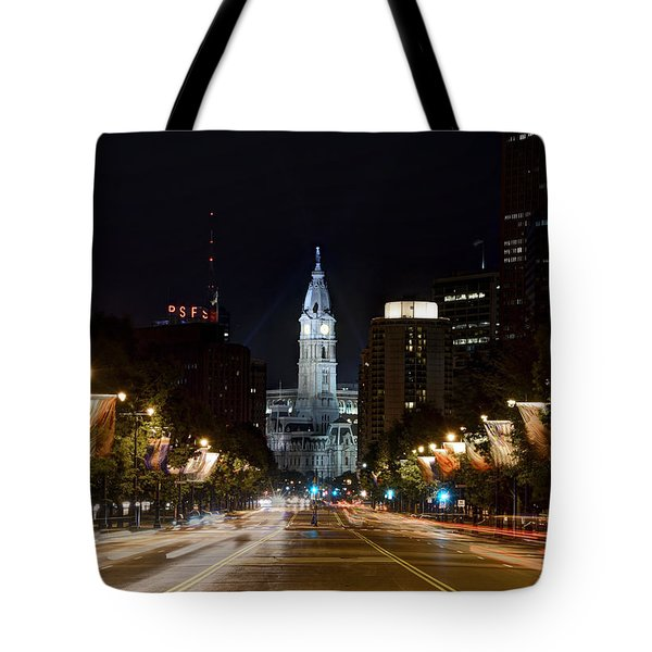 City Hall From The Parkway Tote Bag
