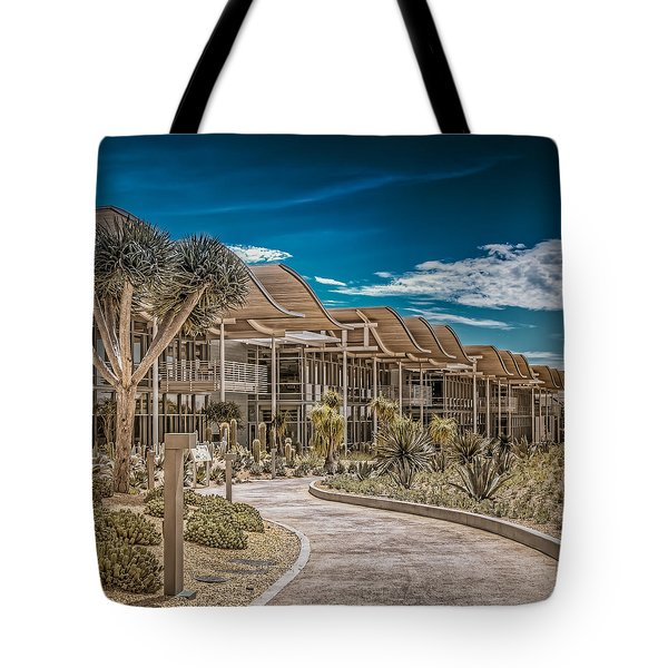Newport Beach California City Hall Tote Bag