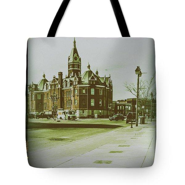 City Hall, Stratford Tote Bag