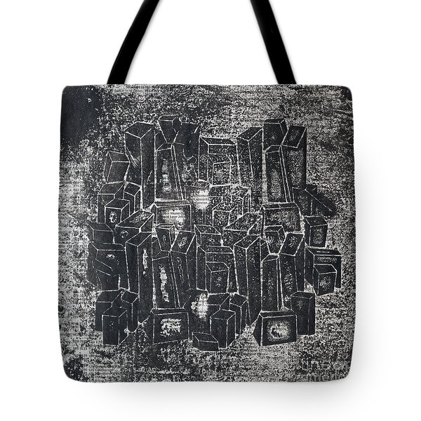 City In Dark  Tote Bag