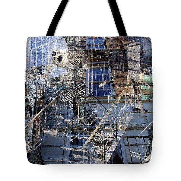 City Jumble Tote Bag
