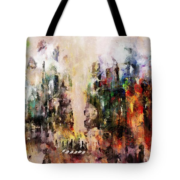 Tote Bag featuring the photograph City Life by Claire Bull