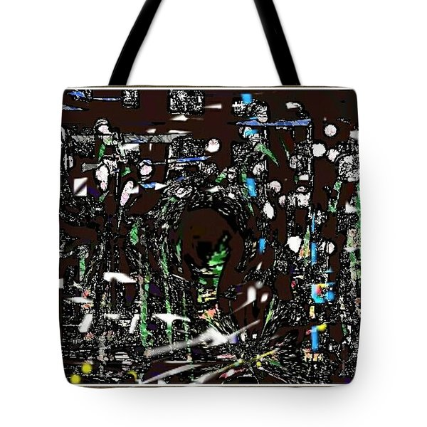 City Life Impression Night Drive Tote Bag