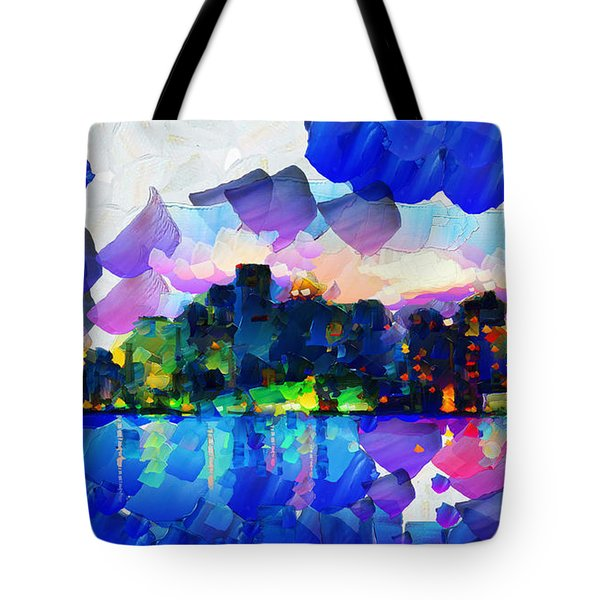 City Lights Limits - Painting Tote Bag
