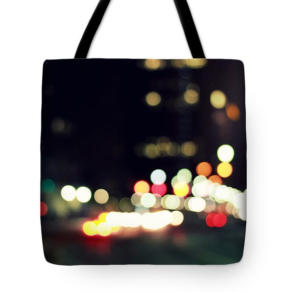 City Lights Tote Bag