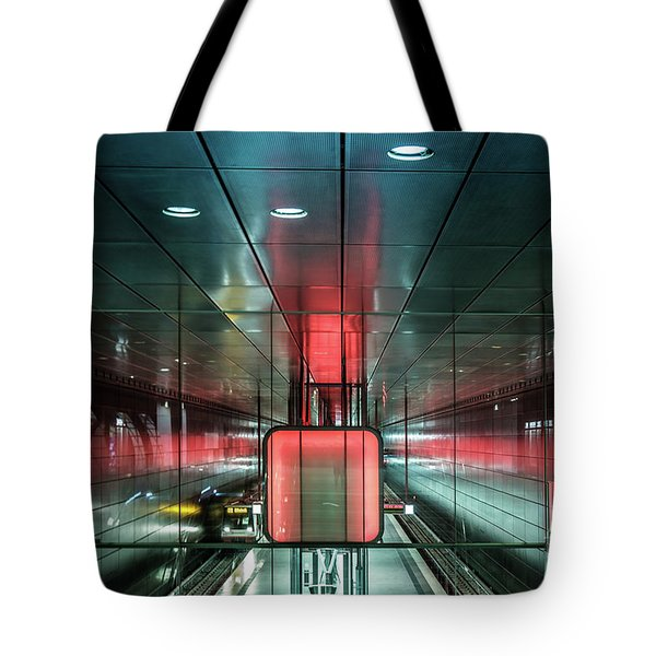 City Metro Station Hamburg Tote Bag