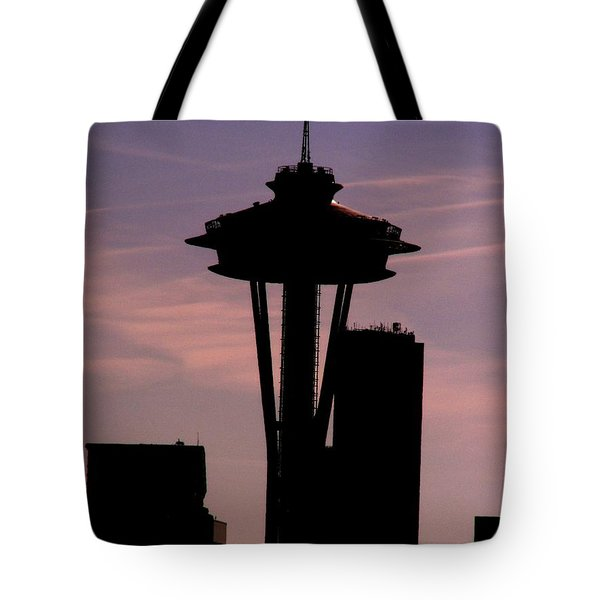 City Needle Tote Bag by Tim Allen