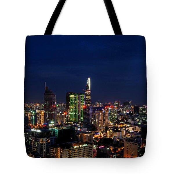 City Night Tote Bag