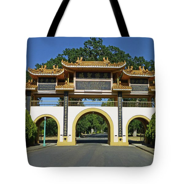 City Of Ten Thousand Buddhas Tote Bag