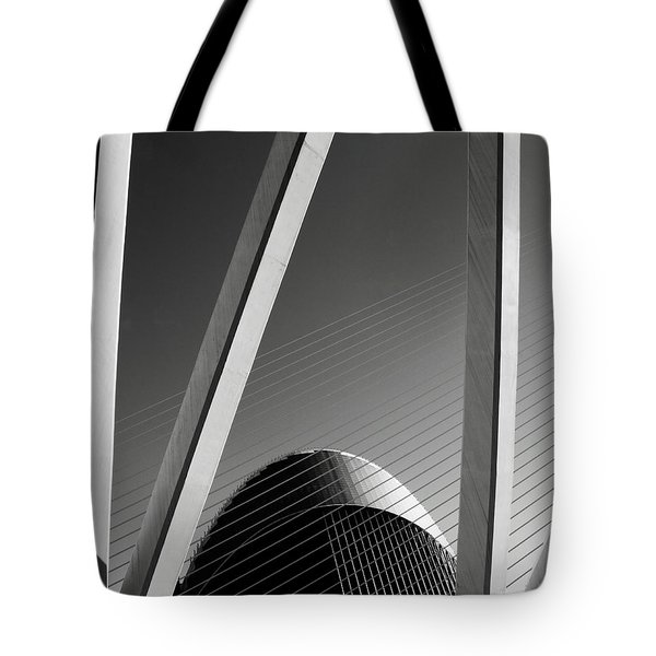 City Of Arts Tote Bag
