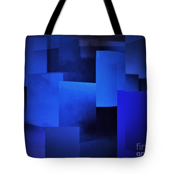 Night In The City Of Blues Tote Bag