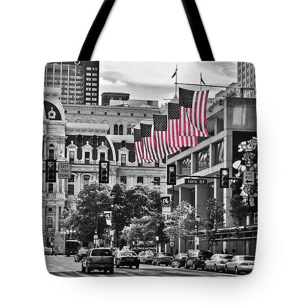 City Of Brotherly Love - Philadelphia Tote Bag