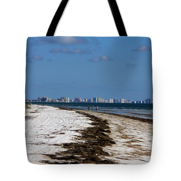City Of Clearwater Skyline Tote Bag