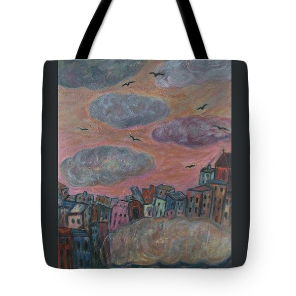 City Of Clouds Tote Bag