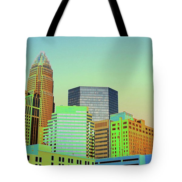 City Of Colors Tote Bag by Karol Livote