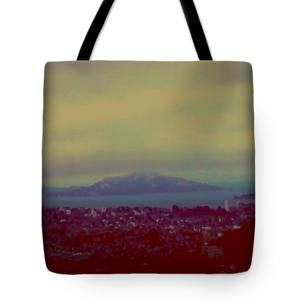 Tote Bag featuring the digital art City Of Dream by Dr Loifer Vladimir