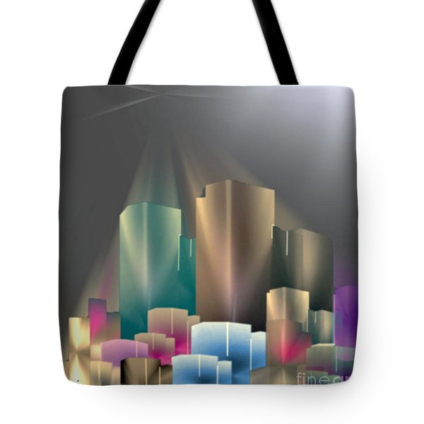 City Of Light 5-2 2016 Tote Bag