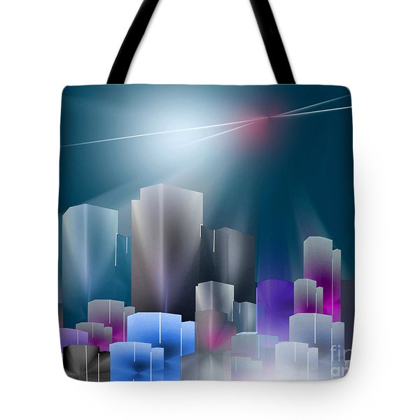 City Of Light Tote Bag