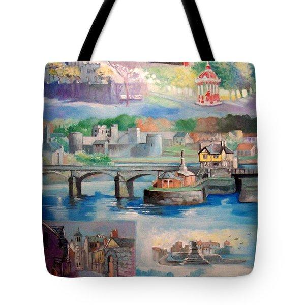 City Of Limerick Ireland Tote Bag by Paul Weerasekera