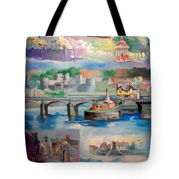 City Of Limerick Ireland Tote Bag