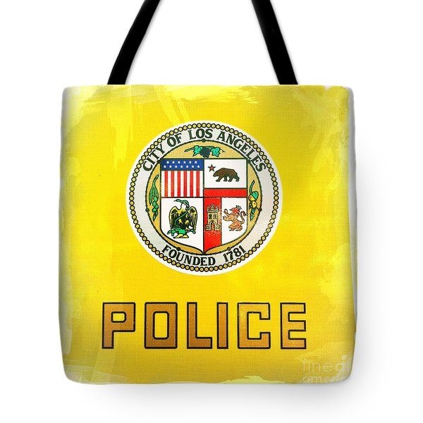 City Of Los Angeles - Police Tote Bag