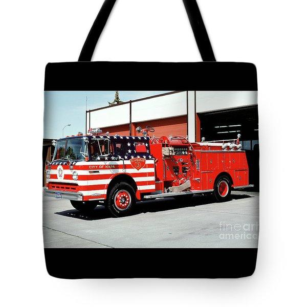 City Of Napa Van Pelt Engine 3 Tote Bag