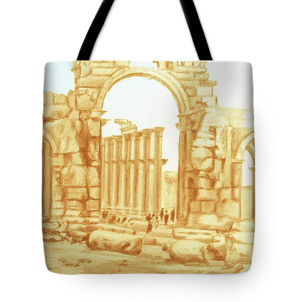 City Of Palmyra Tote Bag