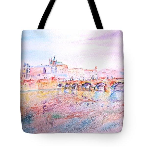City Of Prague Tote Bag