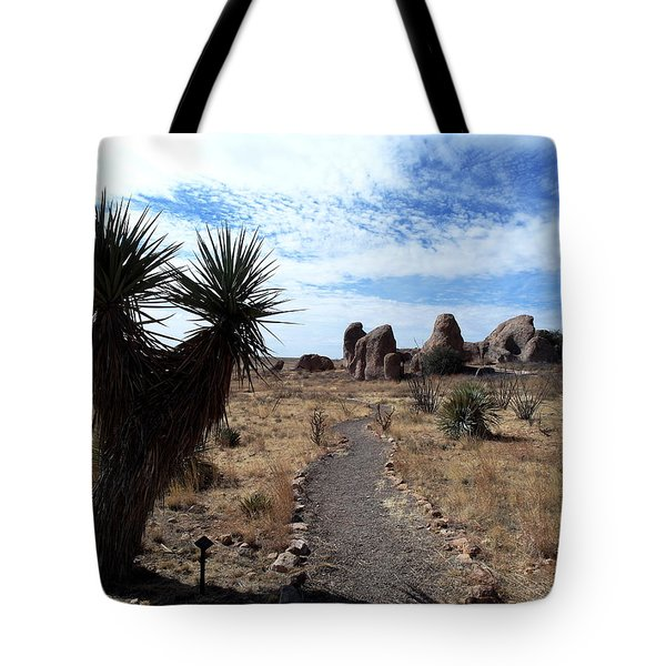 City Of Rocks - New Mexico Tote Bag